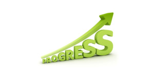 Progress going up