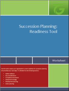 Succession Planning Readiness Tool