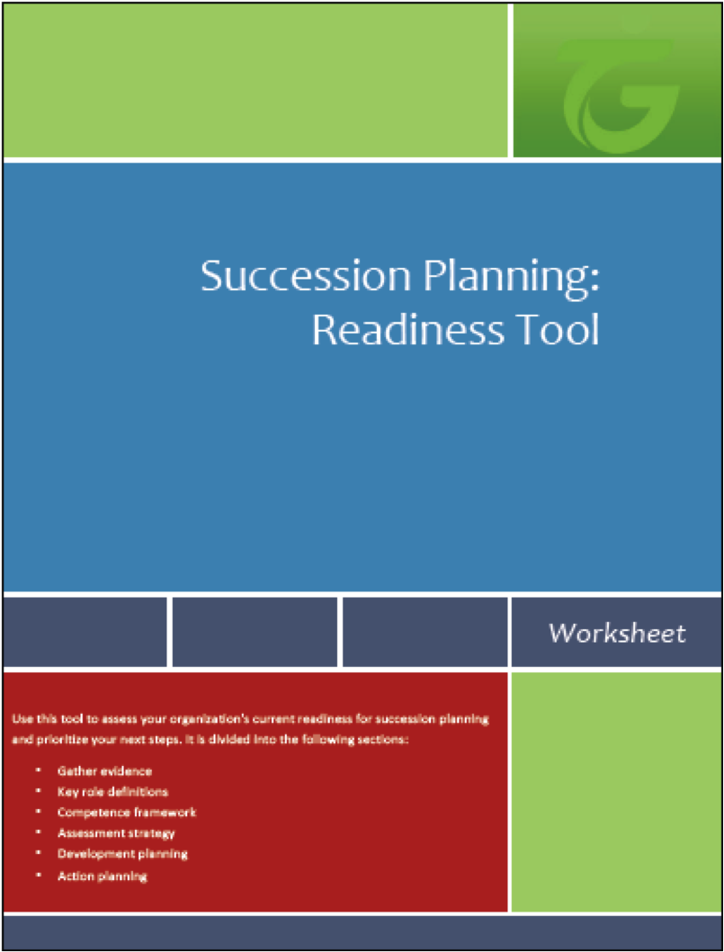 Succession planning readiness tool talentguard for Planning tools
