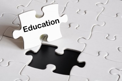 education puzzle piece