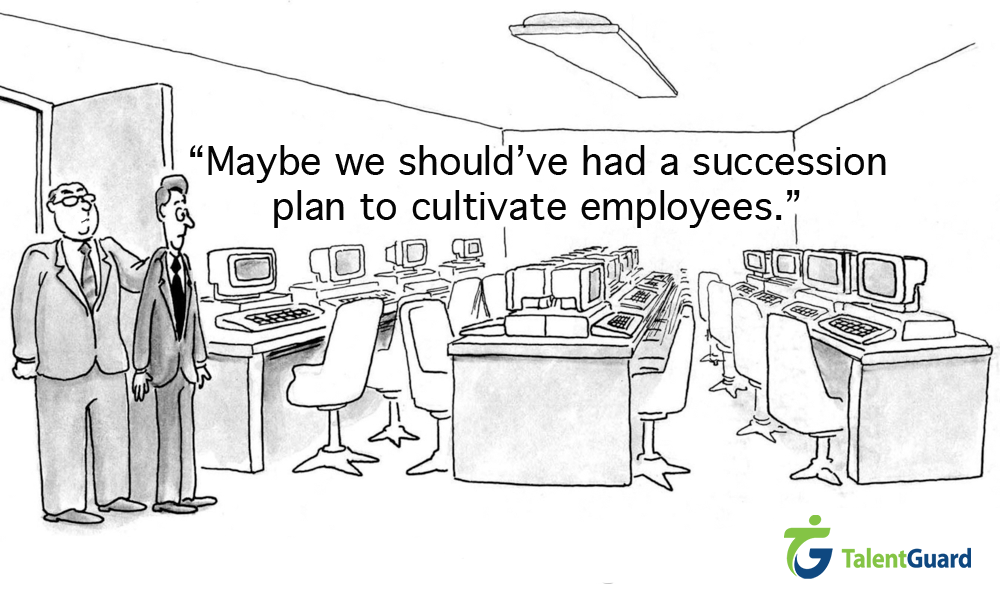 Maybe we Should've had a succession plan to cultivate employees picture