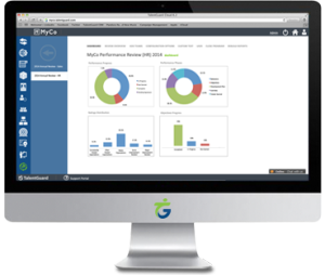 Performance Management software screenshot displayed on a desktop computer