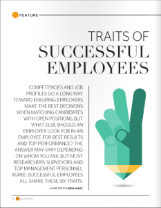 InFluential Magazine: Traits of Successful Employees, Linda Ginac Feature