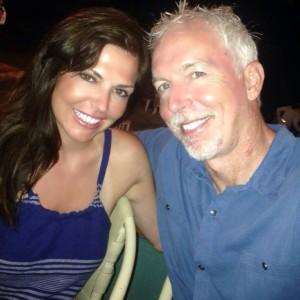 Linda Ginac and Frank Ginac Smiling
