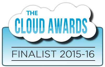 The Cloud Awards Finalist 2015-16 Award Badge