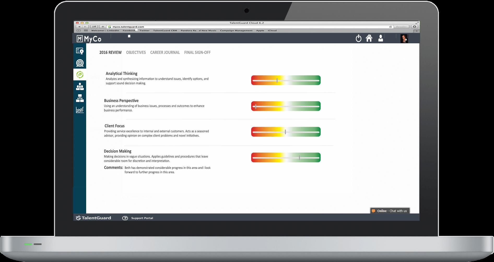 Performance Management Software TalentGuard