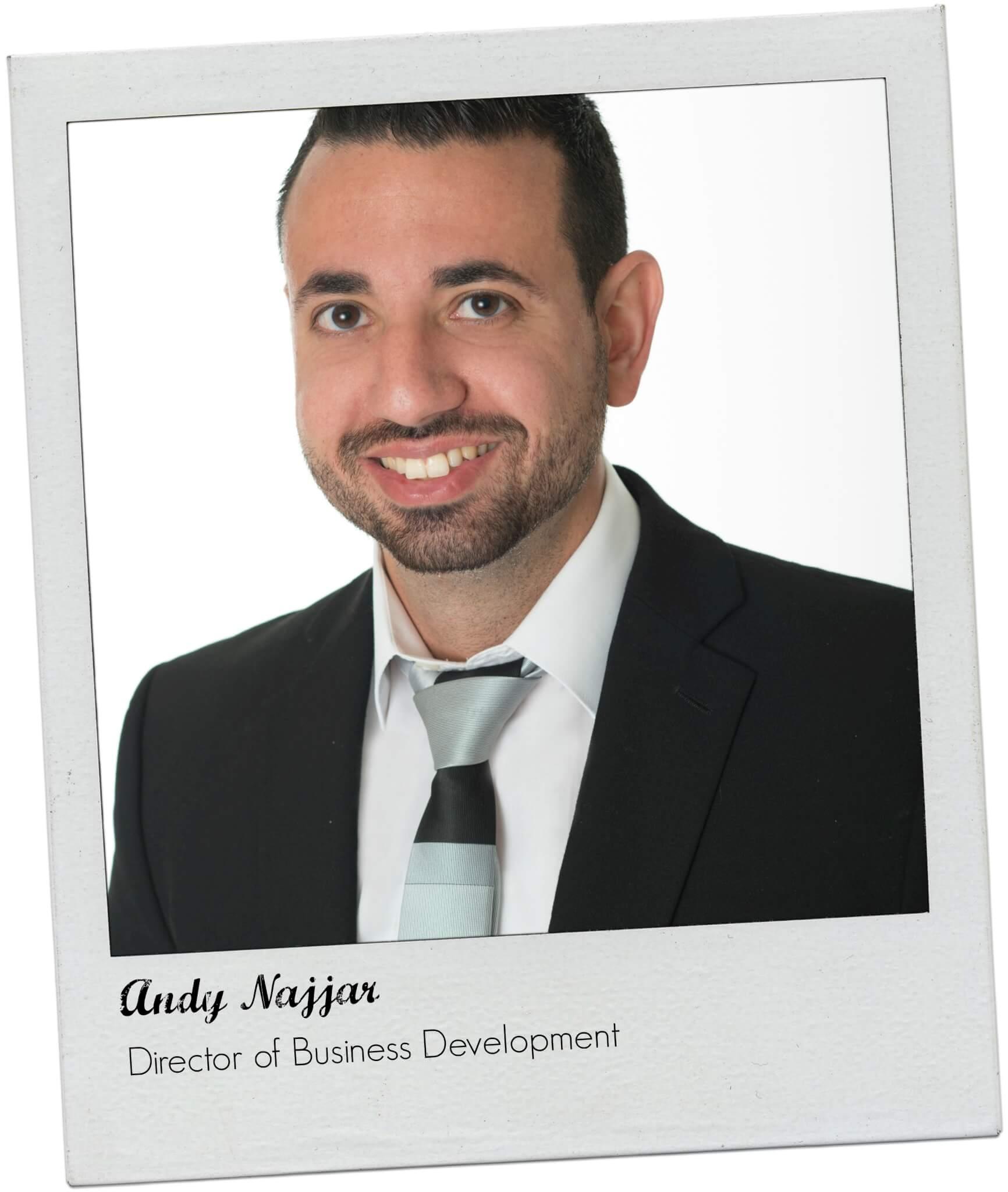 Andy Najjar Framed TalentGuard