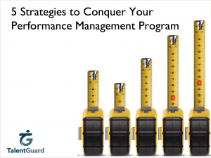 Conquer Your Performance Management Program - TalentGuard