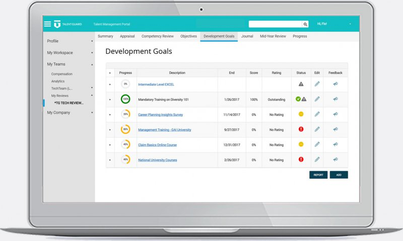 Performance Management - Development Goals