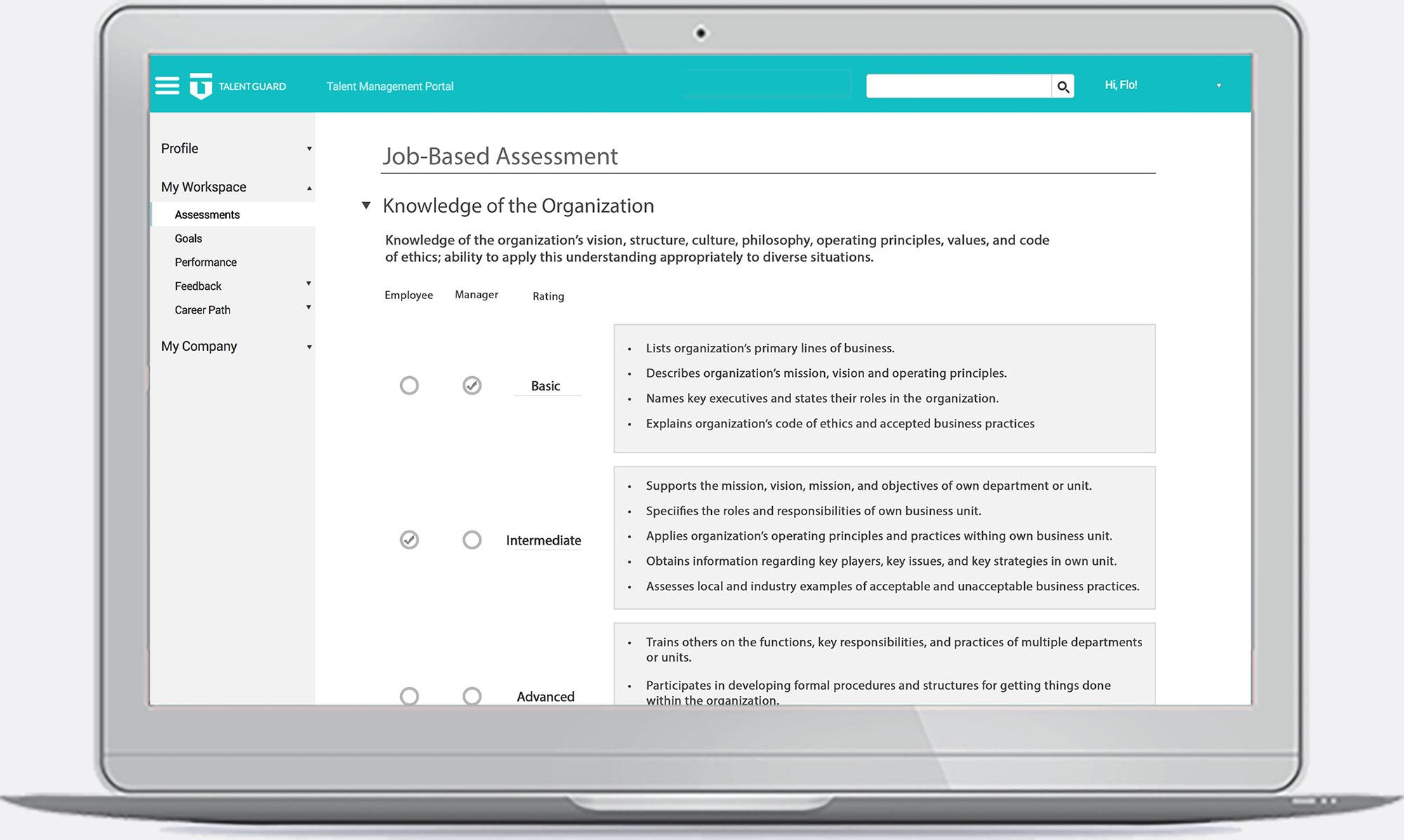 Performance Management - Job-Based Assessment