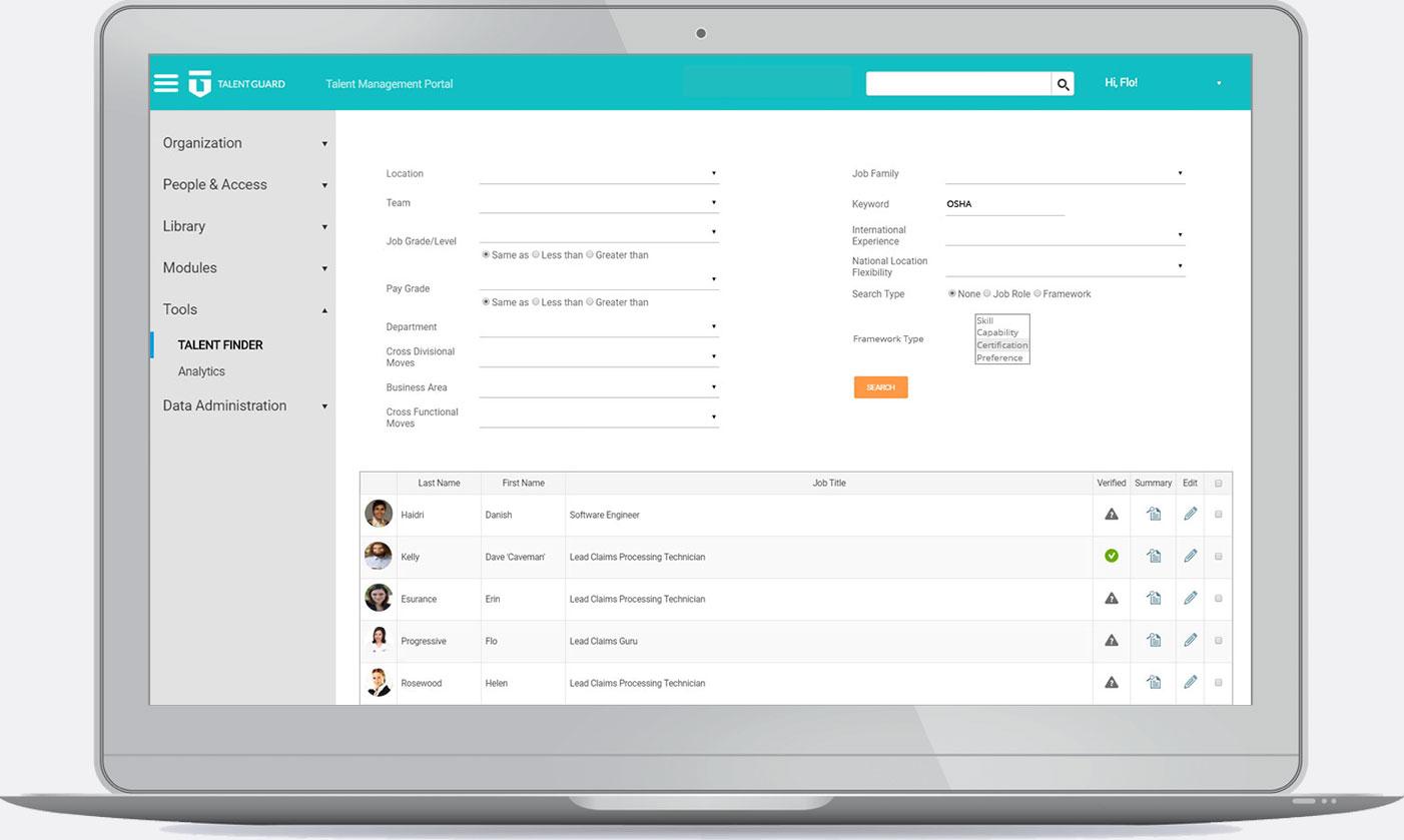 Succession Planning - Talent Finder
