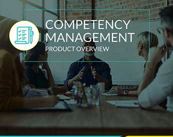 Competency Management - Product Overview