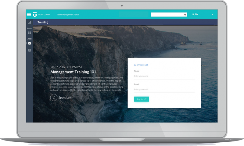 Learning Management - Registration