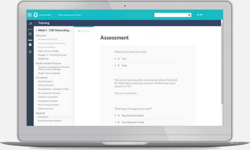 Learning Management System - Assessments