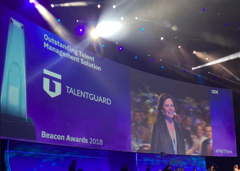 TalentGuard Beacon Award Outstanding Talent Management Solution