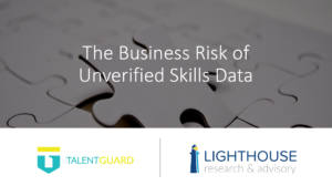 Resource Box The Business Risk of Unverified Skills Data