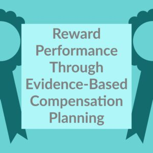 Resource Box Reward Performance Through Evidence-Based Compensation Planning