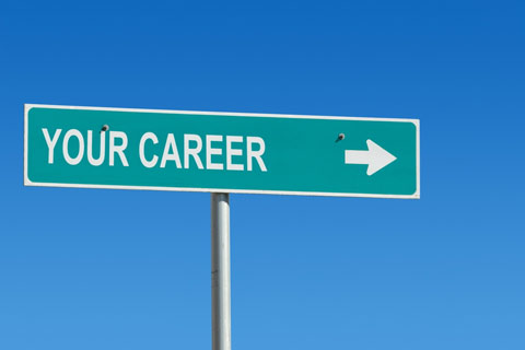 career coaching on street sign