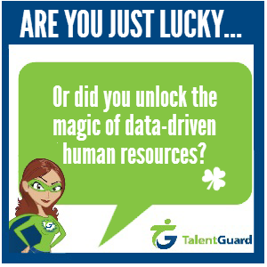 Lucky did you unlock magic of data driven human resources