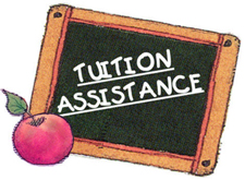 Tuition Assistance on school blackboard